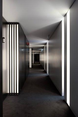 Inspira Santa Marta Hotel / Promontório Arquitectos #corridor #hallway #lighting