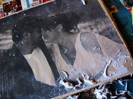 DIY - Fotos auf Holz drucken - mambapferd