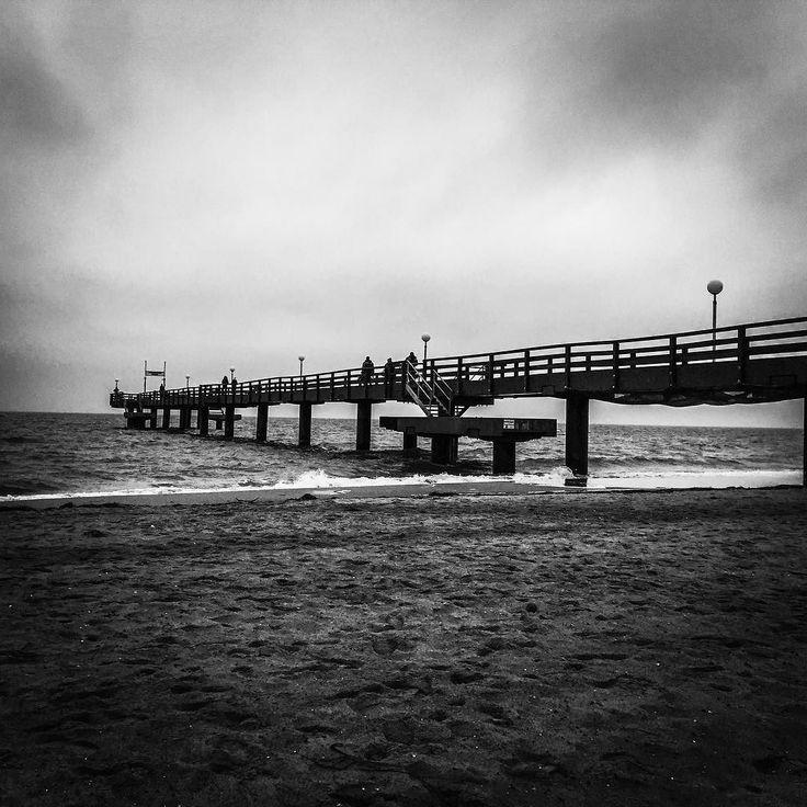 Seebrücke Rerik #ostsee #rerik #meer #strand #brücke #winter #weihnachten #awesomepics
