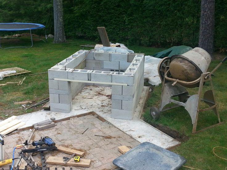 Block wall base