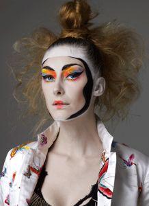 日本のファッションデザイナー山本寛斎が歌舞伎をモチーフにした歌舞伎メイク☆歌舞伎メイクの参考に!