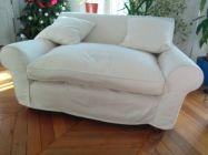 Canapé blanc Winslow (Conran shop) 75% discount