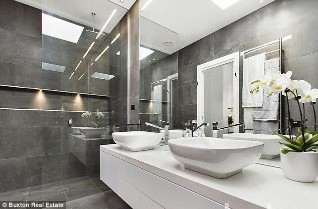 Sharp: The pair worked on the kitchen and bathroom spaces in the property expected to sell for just above $1.15 million