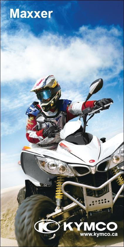 KYMCO MAXXER 450i ATV