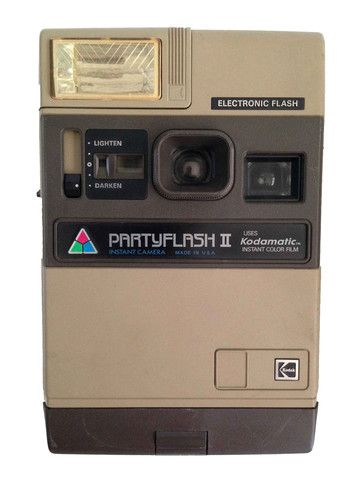 Kodak PartFlash II Instant Camera – Junkie Charity Store