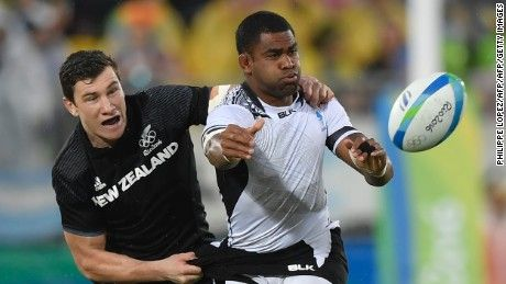 New Zealand crashes out of rugby sevens in Rio after Fiji defeat