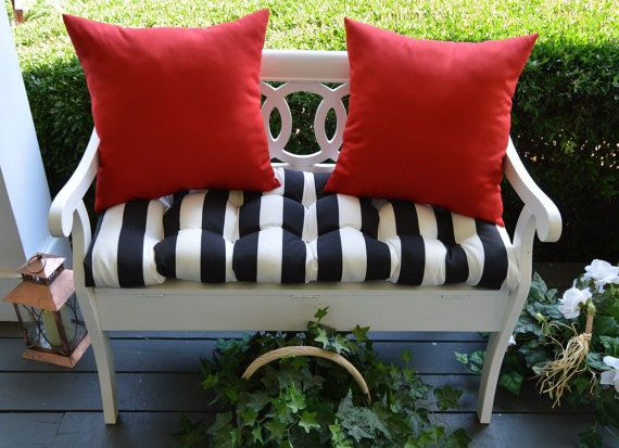 1000 Images About Tufted Bench Cushions On Pinterest