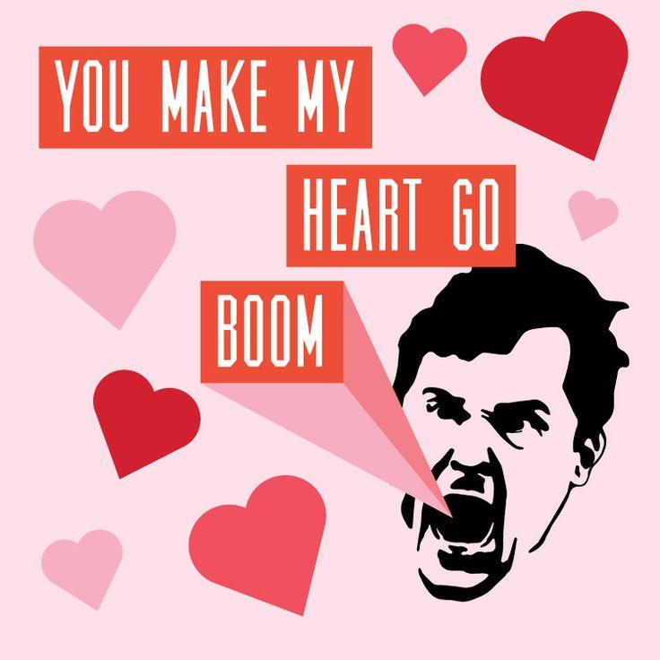 You make my heart go BOOM! #AuburnValentines #Guschamp #BoomEra