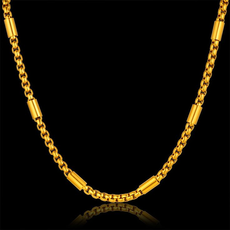 Thnic Thick Gold Chain Necklace For Men, Wholesale Gold Color Chain Designs, Male Necklace Gift,  Women Party Accessories
