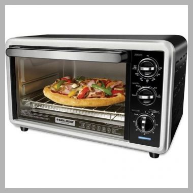 BLACK and DECKER 6-Slice Convection Toaster Oven, Silver, TO1216B - Price History