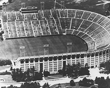 LSU Football Stadium in 1953 Picture at LSUPix.net