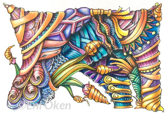 I was thinking about a discussion with one of members of myShading Zentangle® Facebook Group Read more