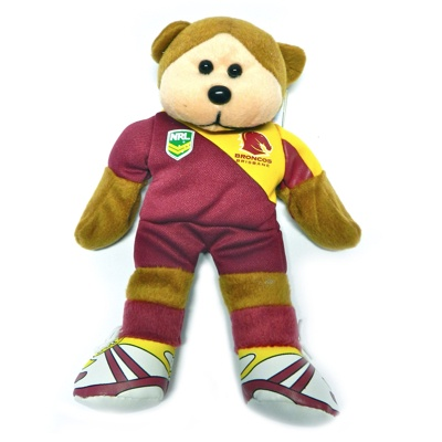 Brisbane Broncos Beanie Kid!  Last month Beanie kids released all 16 NRL teams... this guy is a little cutie!