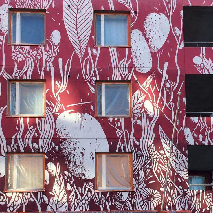 Wip #Helsinki - #Finland 2016 Katutaide UPea16 #streetart #tellas