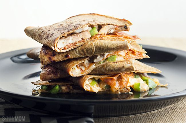 The Ultimate Pizza Quesadillas from Skinny Mom   Skinny Mom   Where Moms Get the Skinny on Healthy Living