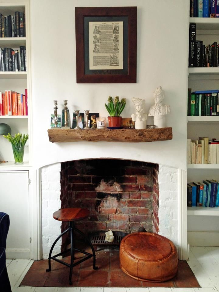 1000 Images About Dressing Your Fireplace On Pinterest