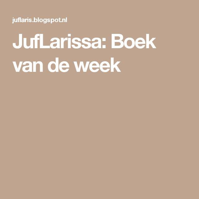 JufLarissa: Boek van de week