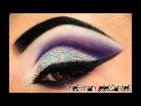 Purple Cut Crease & Glitter - Make Up Tutorial ft. BitchSlap Cosmetics: this taught me that I need more glitter in my life!