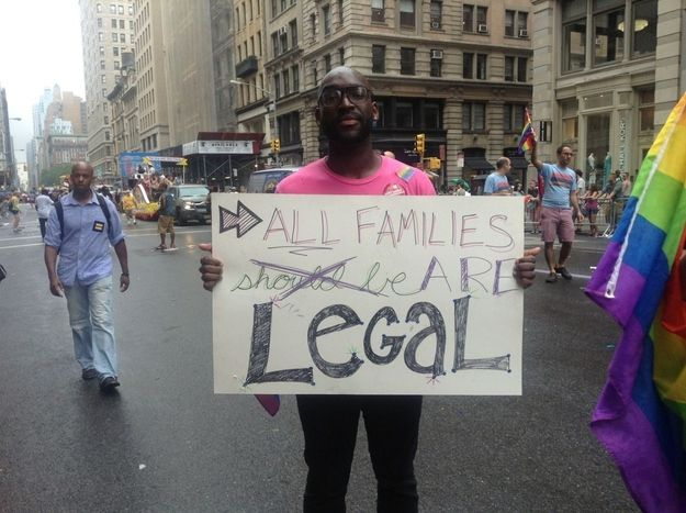 The 27 Best Signs From The New York City Gay Pride Parade