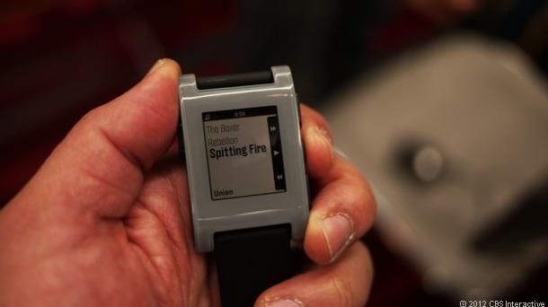Pebble watch is the smartest timepiece ever #CES