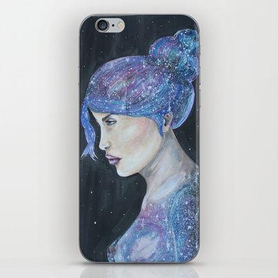 Galaxy girl @society6 @apersonalidea @artsider_com #art #iphonecover #society6 #society6artists #galaxy #girl #cover