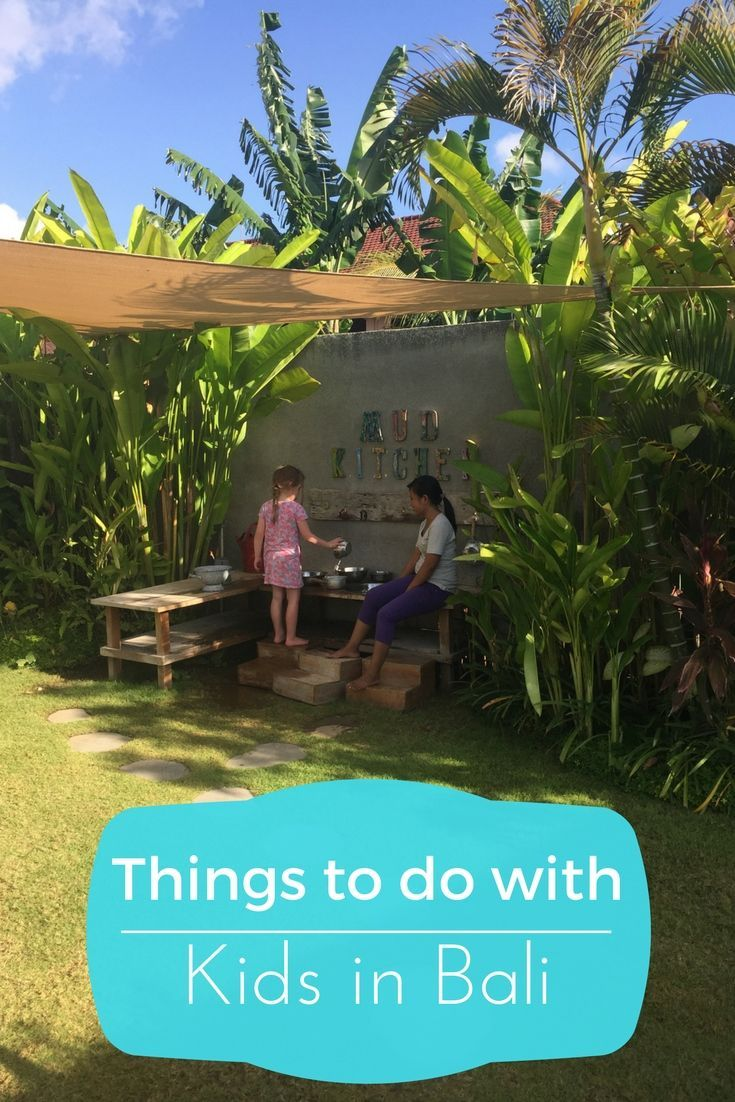 10 activities for kids under 5 in Bali including water parks and kids clubs that are open to everyone