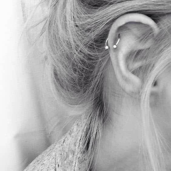 Helix Piercings – Ultimate Guide With Images