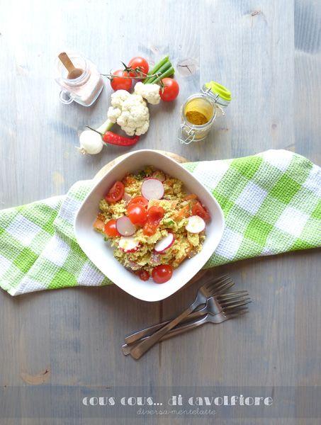Cous cous di cavolfiore - Cucina Semplicemente - Origine foto: www.diversamentelatte.it