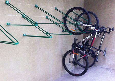 bicicletero colgante velopololis, estacionamiento de bicicletas, equipamiento urbano para ciclistas