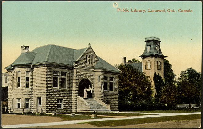 Public Library, Listowel, Ont., Canada