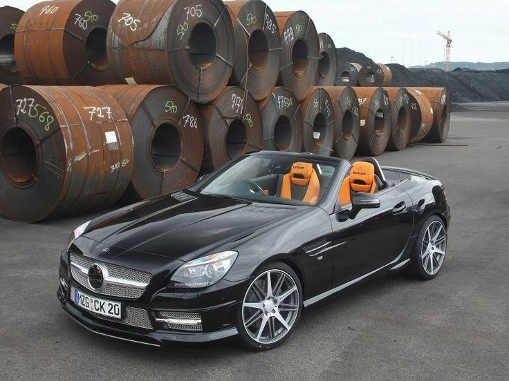 Carlsson Mercedes Benz SLK Black 2011.