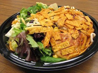 Andrea Cooks - copy cat mcdonalds southwest salad