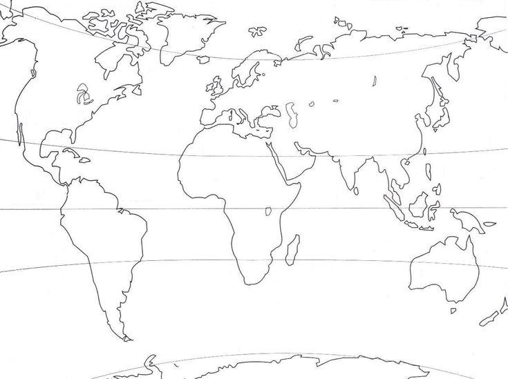 Célèbre Plus de 25 idées uniques dans la catégorie Carte monde vierge sur  YP46