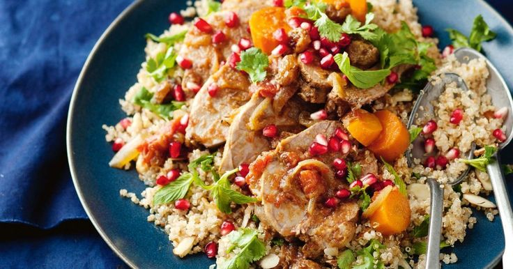 !!! Pomegranate adds vibrancy and flavour to this delicious slow-cooker lamb pot roast.