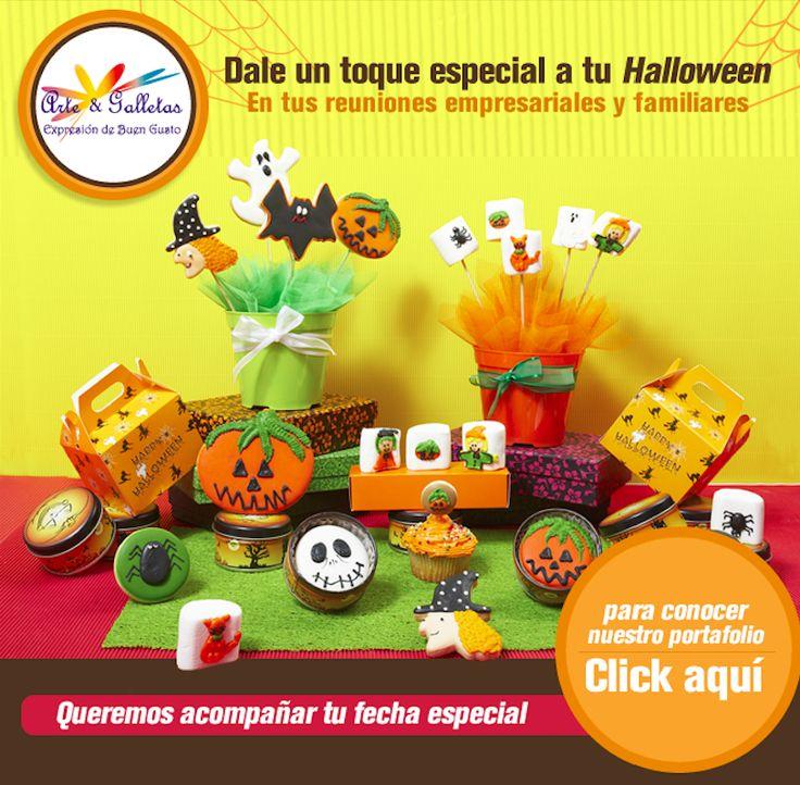#NOVOCLICK esta con @arteygalletas_ y su promocion halloween