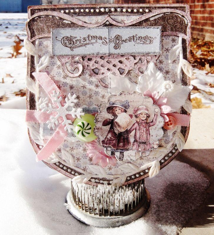 Christmas Greetings - Maja Design - Scrapbook.com