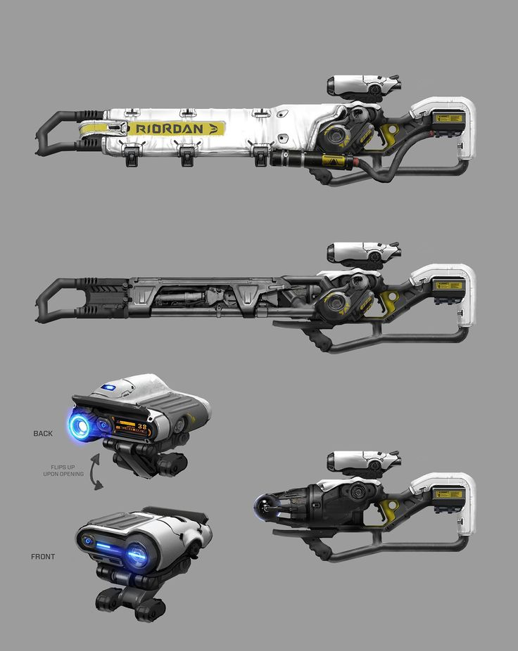 ArtStation - Unreal Tournament Weapons, Adam Wood