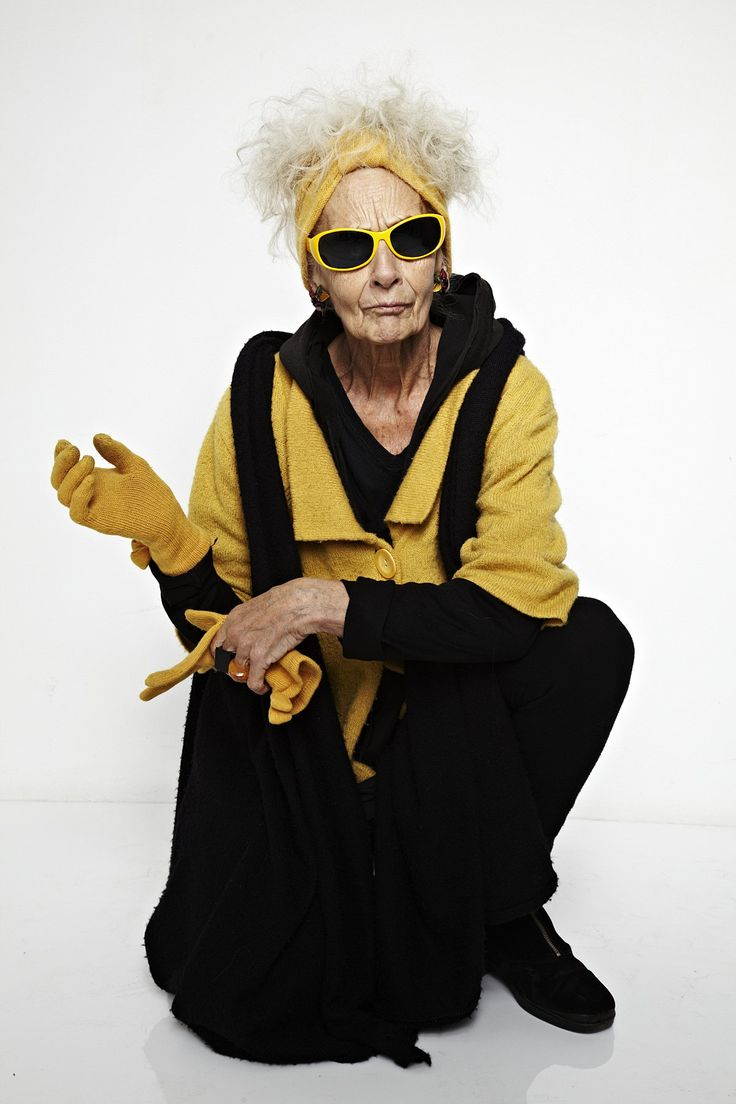 A 75-YEAR-OLD stylish great-grandmother from Greenwich is starring in a documentary exploring the art of ageing.