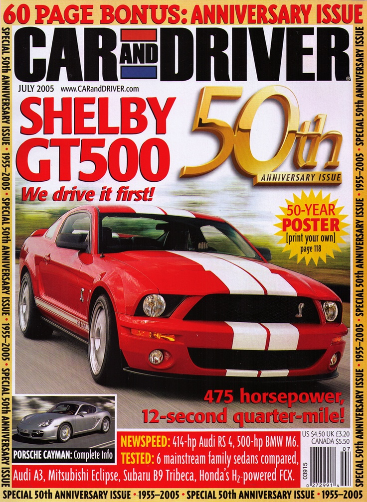 9 best covers images on pinterest car and driver magazine covers july 2005 50th anniversary issue read the original articles from this issue here http fandeluxe Gallery