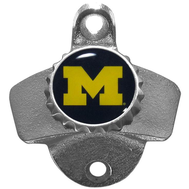 Siskiyou Collegiate Michigan Wolverines Wall-mounted Bottle Opener