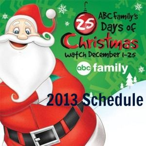 ABC Family 25 Days of Christmas Schedule 2013
