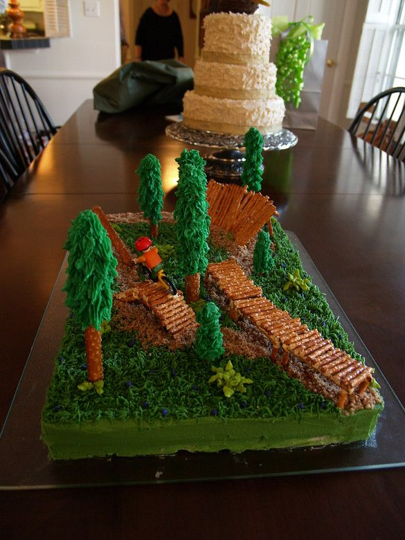 groom doubling on a dirt bike | Bike Park Grooms Cake - socnick - Mountain Biking Pictures - Vital MTB
