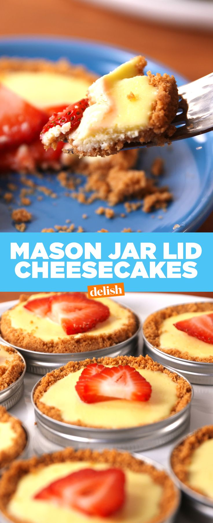 We're beyond obsessed with this mason jar hack. Get the recipe from Delish.com.