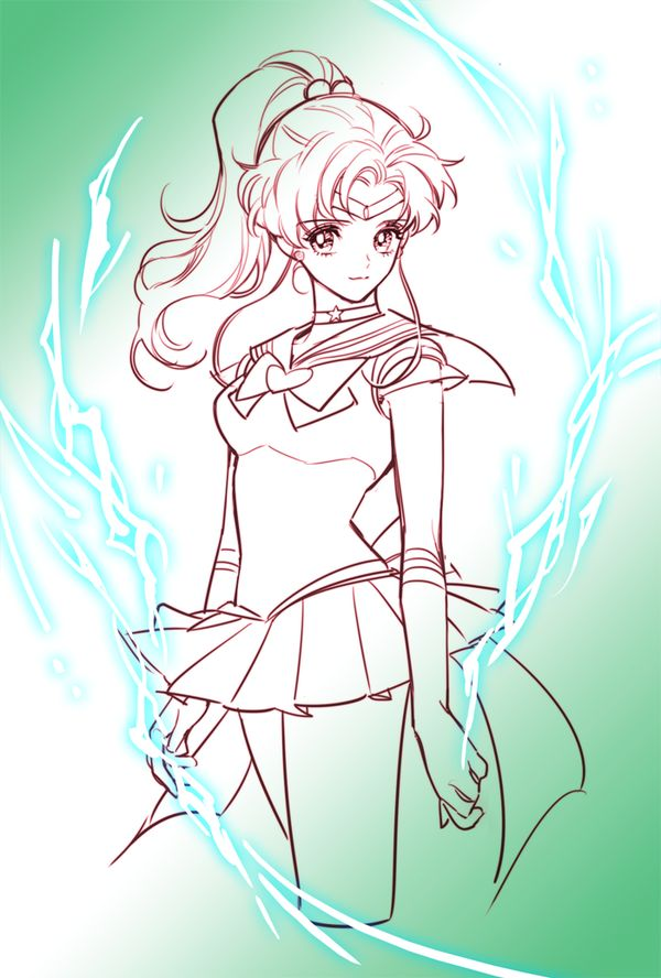 World of Eternal Sailor Moon — Fanart by   ♥최엠제님 ♥ 디페 Z20.