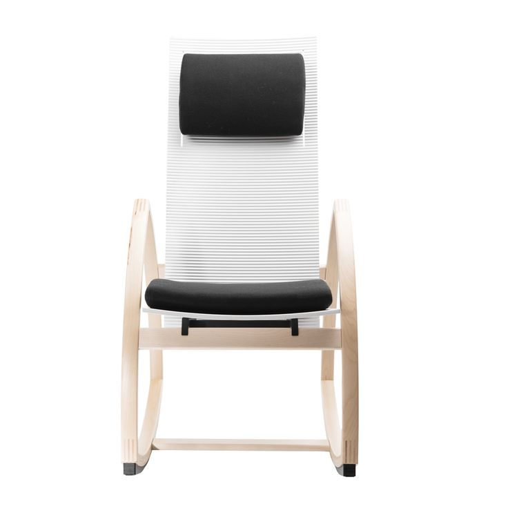 Rock For Peace rocking chair Two - an extended version of One with longer back and corrugated surface. Can be customized to your liking