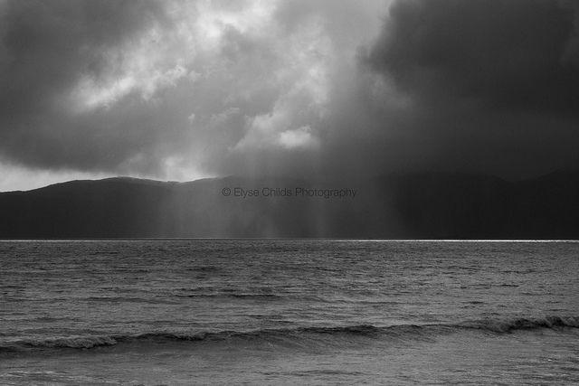 Kapiti Island storm | © Elyse Childs Photography