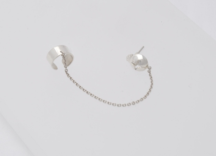 One Star - Sterling Silver Earring