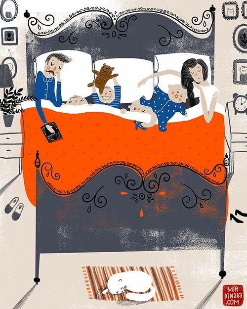 richters: Co-sleeping by Dinara Mirtalipova