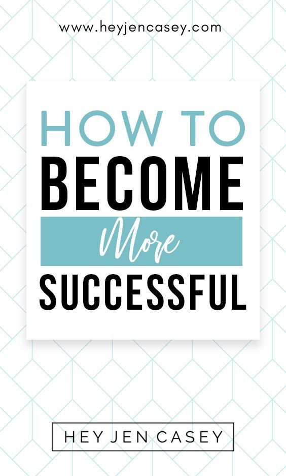 how can i be successful