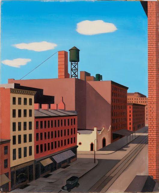 George Ault - Hudson Street, 1932